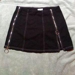 M silence+noice oring zipper skirt